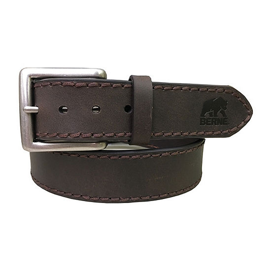 Berne® Antique Nickel Buckle Men's Belt