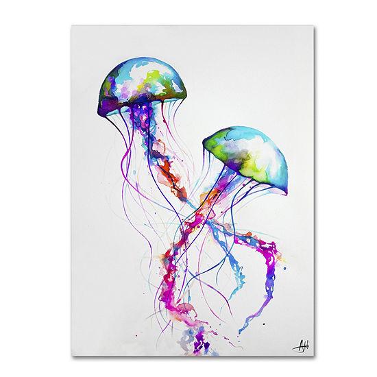Trademark Fine Art Marc Allante Narasumas Giclee Canvas Art