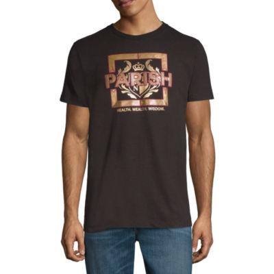 Parish Short Sleeve Bordered Graphic T-Shirt