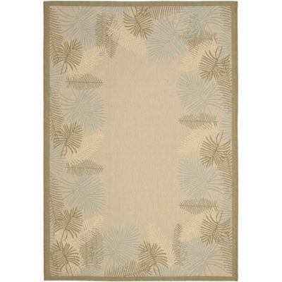 Safavieh Courtyard Collection Juliet Floral Indoor/Outdoor Area Rug