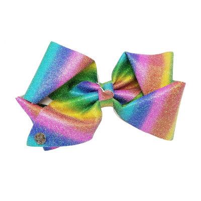 JoJo Siwa Signature Rainbow Shimmer Bow