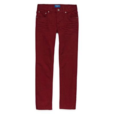 Arizona Boys Low Rise Stretch Straight Leg Jean