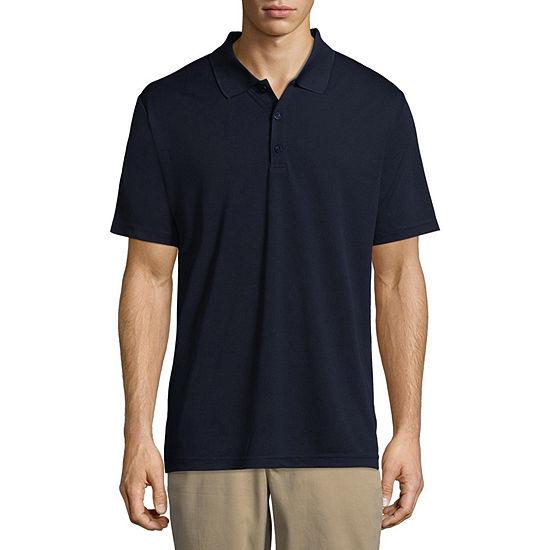 Dickies Mens Wrinkle Resistant Short Sleeve Polo Shirt