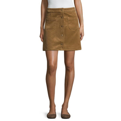 Arizona Corduroy Skirt-Juniors