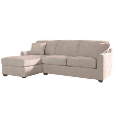 Fabric Possibilities Sharkfin 2-Pc Left Arm Chaise Sectional
