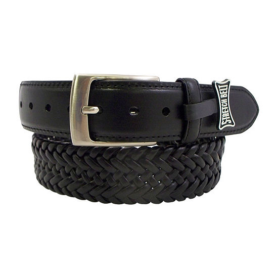 Danbury Nickle Finish Stretch Belt