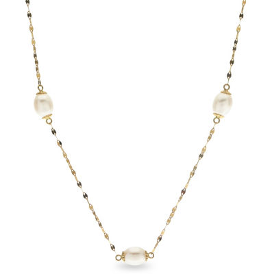 14K Gold 21 Inch Chain Necklace