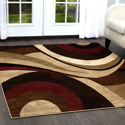 Home Dynamix Tribeca Slade Abstract Rectangular 3-Piece Rug Set
