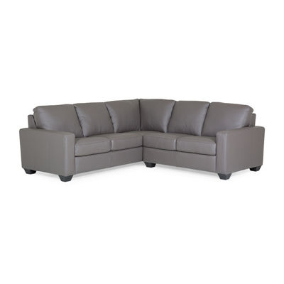 Leather Possibilities Boulevard Track Arm 2-Piece Sectional