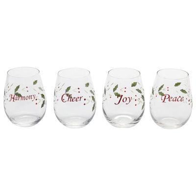 Pfaltzgraff Winterberry 4-pc. Wine Glass