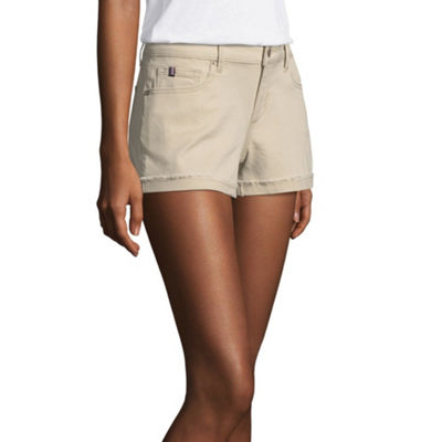 "Us Polo Assn. 3 1/2"" Denim Shorts-Juniors"