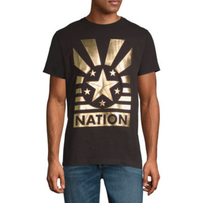 Parish Short Sleeve Star Graphic T-Shirt