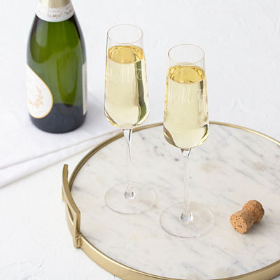 Cathy's Concepts 2-pc. Personalized Champagne Flutes