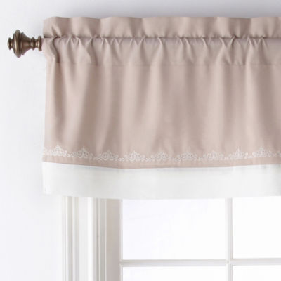 Liz Claiborne Harmonie Rod-Pocket Tailored Valance