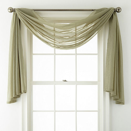 Home Expressions Scarf Valance Jcpenney