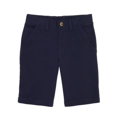 French Toast Flat Front Uniform Chino Shorts- Boys 4-20