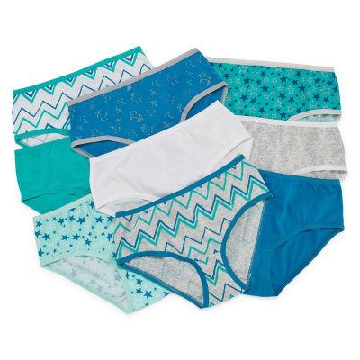 Arizona Az 9pk Brief 9 Pair Brief Panty Girls