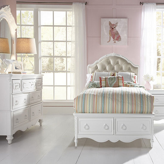 Sweetheart Upholstered Twin Bed