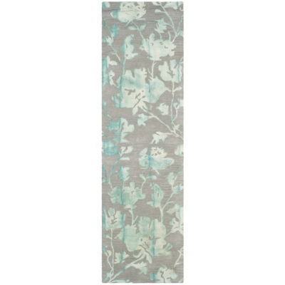Safavieh Dip Dye Collection Jessie Floral Runner Rug