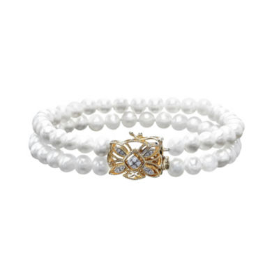 Sofia 10K Gold 7 Inch Chain Bracelet