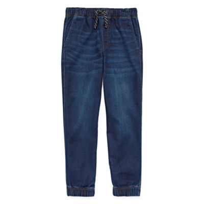 Arizona Denim Jogger Pants Boys 4-20 & Husky