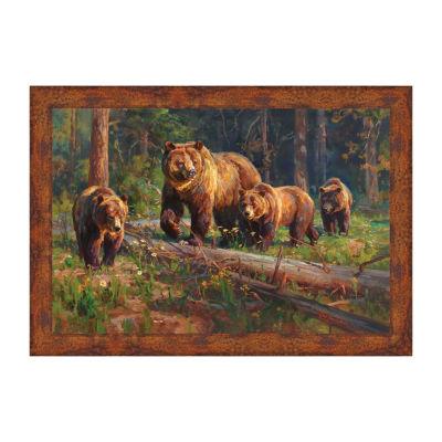 Wilderness Matriarch Framed Canvas Art