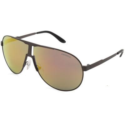 Carrera Sunglasses New Panamerika/S / Frame: SemiMatte Ruthenium Lens: Gray With Orange Flash Ml
