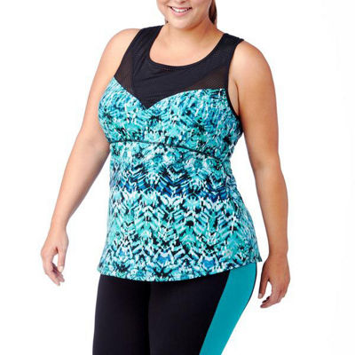 Rainbeau Curves Naina Print Tank - Plus
