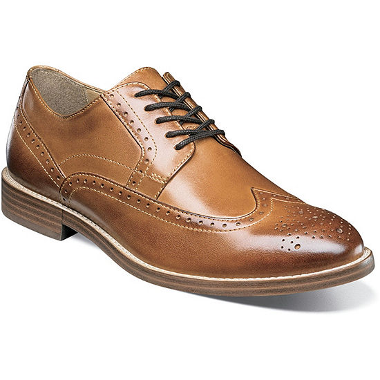 Nunn Bush Middleton Men's Wing Tip Dress Oxford Shoes