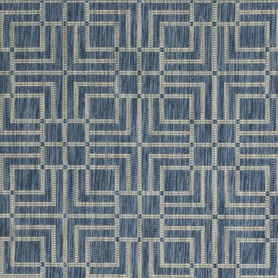 Safavieh Courtyard Collection Adelaide Geometric Indoor/Outdoor Square Area Rug