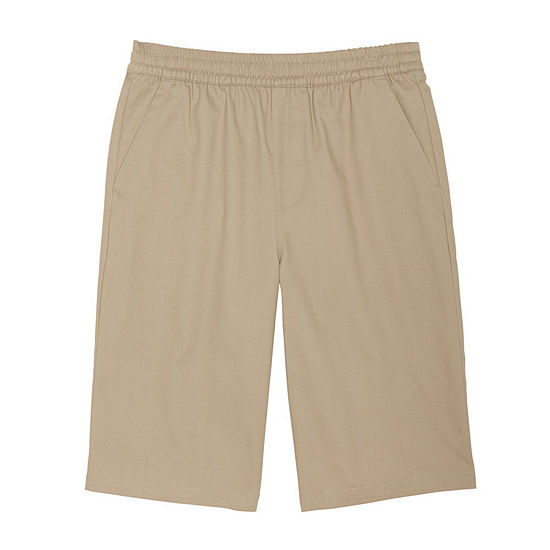 French Toast Boys 4-20 Drawstring Pull On Chino Uniform Short- Reg & Husky
