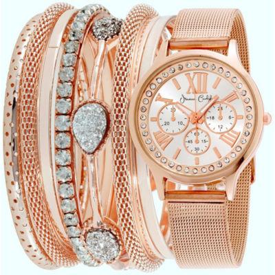 Womens Rose Goldtone Bracelet Watch-St1744rg695-524