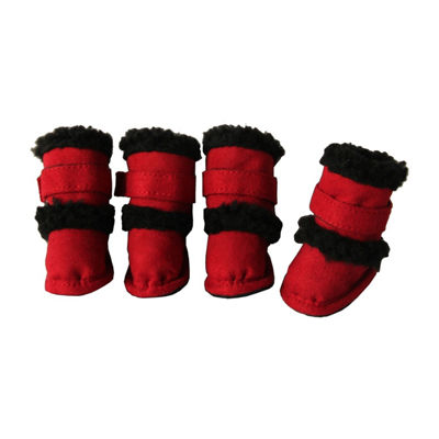 "The Pet Life Shearling ""Duggz"" Pet Shoes"