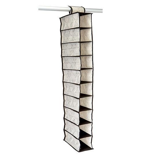 Non-Woven 10 Shelf Shoe Organizer - Geo Natural