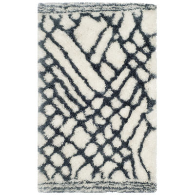 Safavieh Toronto Shag Collection Brendanus Abstract Area Rug