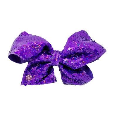 JoJo Siwa Signature Purple Sequin Bow