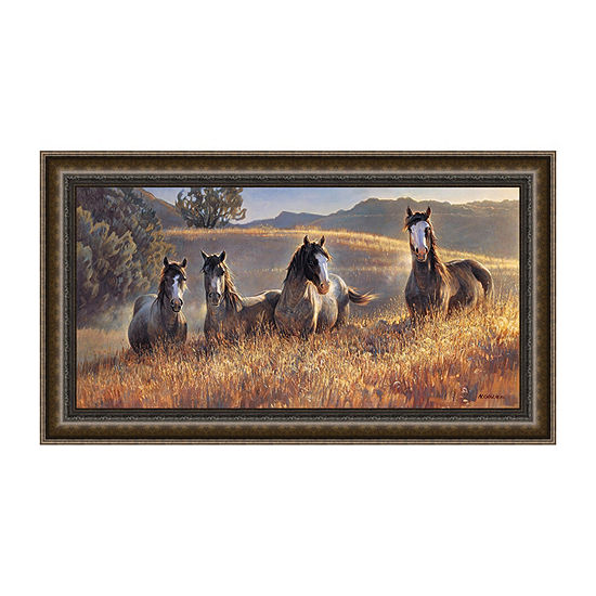 Amazing Grays III Framed Canvas Art