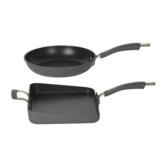 Epicurious 2-pc. Aluminum Dishwasher Safe Non-Stick Frying Pan