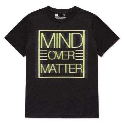 Xersion Poly Graphic T-Shirt Graphic T-Shirt Boys Husky