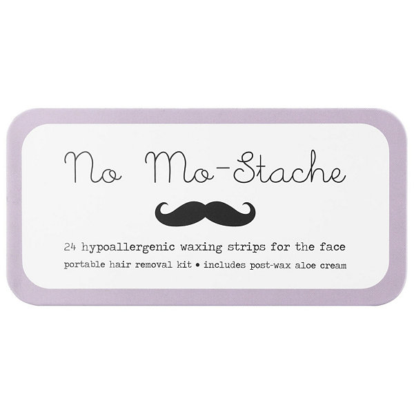 No Mo-stache No Mo-Stache Portable Hypoallergenic Waxing Strips for the Face