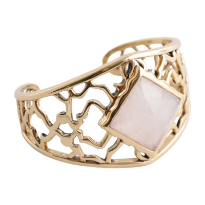 Artsmith By Barse Womens Pink Cuff Bracelet