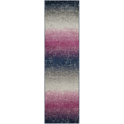Safavieh Madison Collection Becky Abstract RunnerRug
