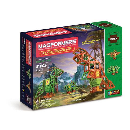 Magformers Walking Dinosaur Set 81 Pc Set