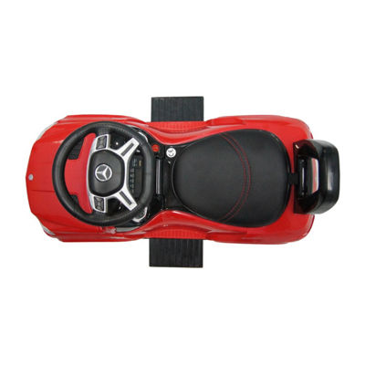 Best Ride On Cars 4-In-1 Mercedes Car Riding Push Toy