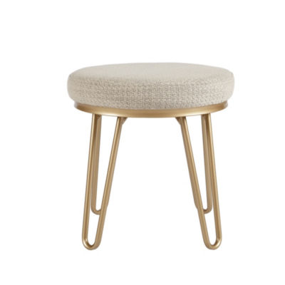 INK+IVY Beverly Round stool