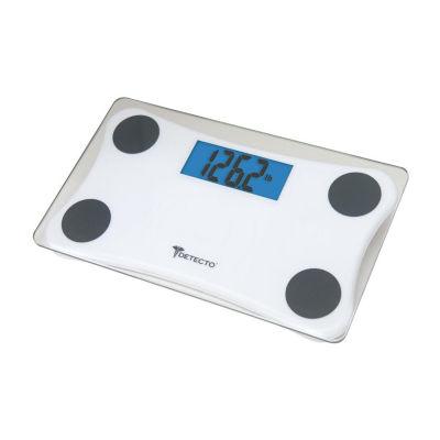 Escali Detecto Travel Digital W/Blue Lt Bathroom Scale