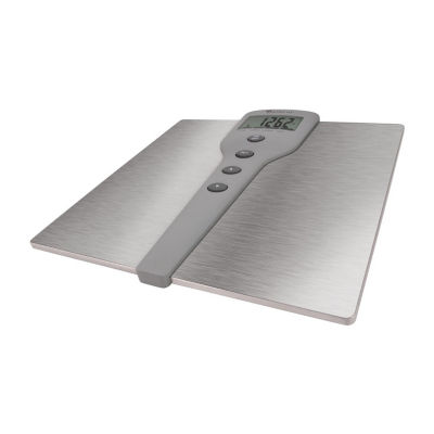 Escali Detecto SS Body Fat/Comp Bathroom Scale