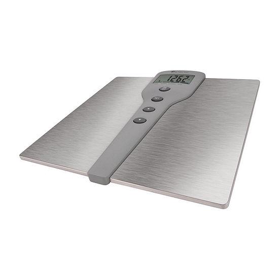 Escali Detecto SS Body Fat/Comp Bathroom Scale