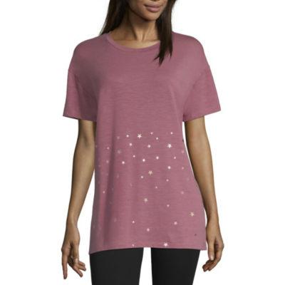 Xersion Short Sleeve Star Foil Tee