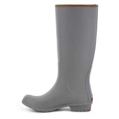 Chooka Fashion Womens City Solid Rain Boots Waterproof Pull-on